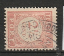 Ned Indie 1913 Langebalkstempel BANDOENG-JAARBEURS Op 2,5 Ct. Port  NVPH 24 RARE. See Description. - Niederländisch-Indien