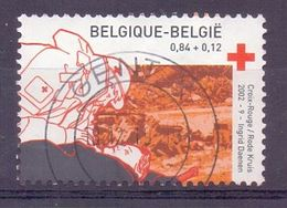 Belgie - 2002 - OBP  - 3072 - Rode Kruis - Belgium