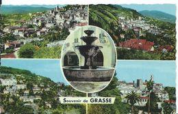 GRASSE  (   ALPES MARITIMES    )         SOUVENIR DE GRASSE...MULTI-VUES - Gruss Aus.../ Grüsse Aus...