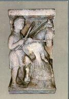 °°° Cartolina - Ferrara Basilica Cattedrale La Formella Del Mese Di Luglio Museo Nuova °°° - Ferrara