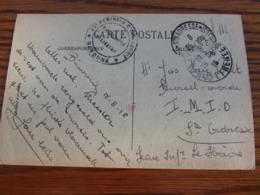 Carte Vue De Biarritz En S.M. Oblitérée STE ADRESSE Le 25-08-1918 Pour Bayonne. Cachet De Franchise Militaire De BAYONNE - Marcophilie (Lettres)