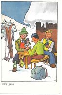 Illustrator Eio - Sports D'hiver, Cartes à Jouer, Ski, Winter Sports, Playing Cards, Wintersport, Karten Spielen - Illustrateurs & Photographes