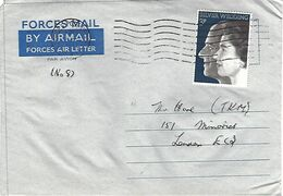 Northern Ireland 1972 FPO 8 Machine IRA Campaign Forces Mail Cover - Militaria