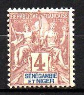 Col17  Colonie Sénégambie & Niger N° 3 Neuf  X MH  Cote 8,00€ - Unused Stamps