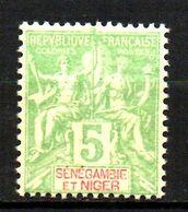 Col17  Colonie Sénégambie & Niger N° 4 Neuf  X MH  Cote 8,00€ - Unused Stamps