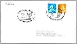 Exposicion Filatelica HISPANO-ISRAELI. MENORA - MENORAH. Toledo 1994 - Jewish
