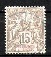 Col17  Colonie Sénégambie & Niger N° 6 Oblitéré  Cote 18,00€ - Used Stamps