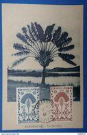 A15 MADAGASCAR CARTE 1946 TANANARIVE UN RAVELANA + FRANCE LIBRE - Madagascar (1889-1960)