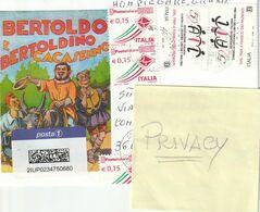 Storia Postale - Usato Su Busta - 2019 Ass. Italiana Contro Le Leucemie ... (2) - - 6. 1946-.. Republic