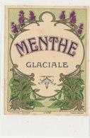 AN 1259 A   / ETIQUETTE    -MENTHE GLACIALE N° 472 - Other