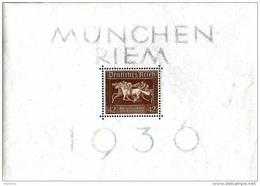 Deutsches Reich Allemagne Germany 1936: Das Braune Band Michel-No 621 Block 4 ** Postfrisch MNH (Michel € 32.00)) - Deutschland