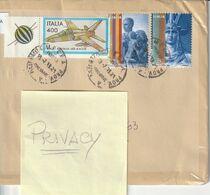 Storia Postale - Usato Su Busta - 2019  Democratica (2 Differenti) - - 6. 1946-.. Republic
