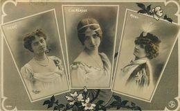 Cléo De MERODE, PLERAT, MUSZ - LES BELLES HORIZONTALES Par REUTLINGER PHOTOGRAPHE, écrite De L'ile MAURICE 1907 - Femmes Célèbres