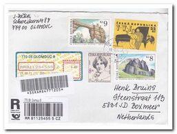 Tsjechië 2011, Letter To Netherland - Tchéquie
