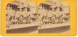 PARIS EXPOISITION UNIVERSELLE 1867- CRISTAUX DE BACCARAT N°3 SECTION FRANCAISE-PHOTO M.LEON ET J.LEVY - Stereoscoop