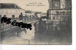 57 SARREBOURG  SAARBURG LANGESTRASSE - Sarrebourg