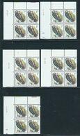 Buzin Nr 2349** 5 Verschillende Datums In Blok Van 4 - 1985-.. Birds (Buzin)