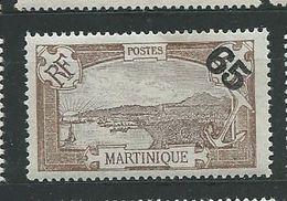 MARTINIQUE N°  90 * TB 1 - Neufs