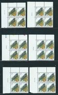 Buzin Nr 2458** 6 Verschillende Datums In Blok Van 4 - 1985-.. Birds (Buzin)