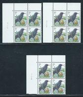 Buzin Nr 2638** 3 Verschillende Datums In Blok Van 4 - 1985-.. Birds (Buzin)
