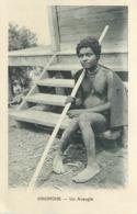 PAPOUASIE - NOUVELLE GUINEE - ONONGHE - UN AVEUGLE - CPA ETHNIQUE - Papua Nueva Guinea