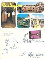 Cartagena (COL). Vedutine. Viaggiata 1971 - Kolumbien