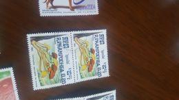 CAMBOGIA I FUNGHI BLOCCO 2 VALORI - Timbres