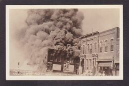 CPA Amérique Iowa Incendie Fire Catastrophe Carte Photo RPPC Non Circulé - Iowa City