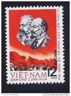 North Vietnam Viet Nam MNH Perf Stamp 1965 : Join Issue / Lenin & Karl Marx (Ms166) - Vietnam