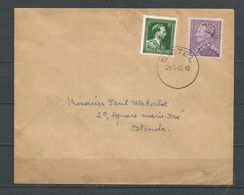 724C + 724P Op Brief Gestempeld GISTEL - 1946 -10 %