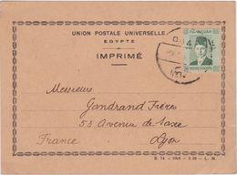 EGYPT, Perfin CL/C On Postcard - Zonder Classificatie