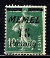 MEMEL  - 48* - TYPE SEMEUSE - Memel (1920-1924)