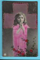CHISTIANISME---Croix + Fillette--voir 2 Scans - Otros