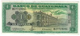 GUATEMALA1QUETZAL07/01/1970P52VF/XF.CV. - Guatemala