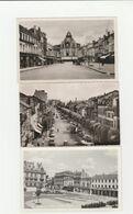 3 CPSM:BAR LE DUC (55) RUE ANDRÉ MAGINOT,BOULEVARD DE LA ROCHELLE,PLACE REGGIO....ÉCRITES - Bar Le Duc