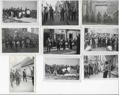 45  BOU  28 PHOTOS  SOIT 11 DE CONCOURS DE PÊCHE AVEC FANFARE  ET 17 HABITANTS  PAYSAGE ETC...DE BOU  ANNEES 50 BON ETAT - Other Municipalities