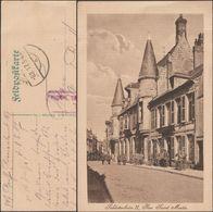 Allemagne 1917. Carte De Franchise Militaire. Soldatenheim II, Rue Saint-Martin, Laon - Marcophilie (Lettres)