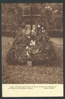 +++ CPA - Tombe D' Yvonne VIESLET - Héroïne Guerre 1914-18  // - Charleroi