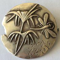 Broche Vintage En Argent Sterling 1410 - Broches
