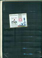 SENEGAL J.O. MUNICH 1 BF NEUF A PARTIR DE 0.75 EUROS - Senegal (1960-...)
