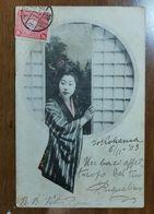 1903 Cartolina Da Yokohama A Larino - Yokohama