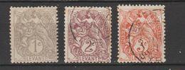 LEVANT  1902  N° 9 X +10 / 11 Obl. - Sin Clasificación