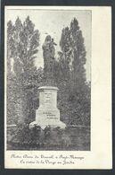 +++ CPA - FAYT - MANAGE - Notre-Dame Du Travail - Statue De La Vierge Au Jardin - Cachet - Taxé à Incourt // - Manage