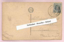 Belgique - Ambulants - Herbesthal-Bruxelles(Brussel) - Carte Vallée De La Hoëgne - Houyoux N°193 Obl. 16/08/1926 - Postmark Collection