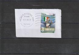 Storia Postale - Usato Su Frammento Lettera Viaggiata - 2018  Juventus - - 6. 1946-.. Republik