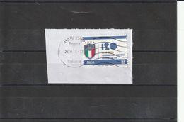 Storia Postale - Usato Su Frammento Lettera Viaggiata - 2018  Fed. Italiana Gioco Calcio - - 6. 1946-.. Republik