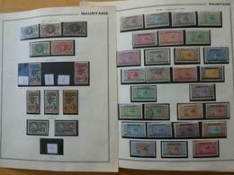 MAURITANIE  Collection Très Avancée Essentiellement Neufs Sans Charnières - Togo (1914-1960)