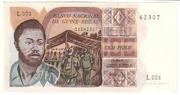 GUINEA BISSAU100PESOS24/09/1975P2UNC.CV. - Guinee-Bissau