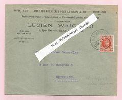 Belgique - Ambulants - Mons-Tournai Bergen-Doornijk Sur Lettre De Blaton à Bruxelles Du 01/11/1935 - Houyoux N°139 - - Postmark Collection