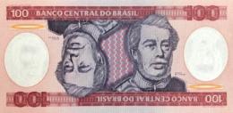 Brazil 100 Cruzeiros, P-198b (1981) - UNC - Brésil